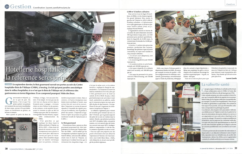 Le Bois Gourmand Champagnole - CHBA Le CHBA dans la presse